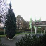 Ibis Styles Herten: view from room to main entrance