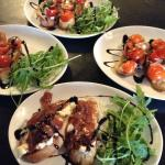 A selection of starters