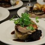 Chicken and Stornoway Black Pudding