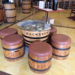 Tasting room at Backsberg