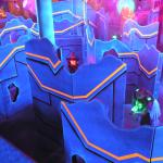 Our NEW and IMPROVED laser tag arena!