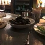 oct 2015 duck contife, mussels, fries, etc..