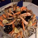 Beau et bon plateau de fruits de mer...