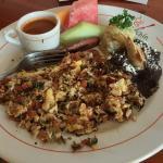 Machaca con huevos