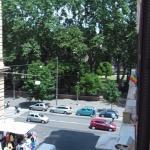 Vista a la Plaza Vittorio Emanuele