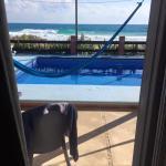 View from sliding patio door