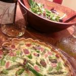 Spring Quiche with ANC Roussanne