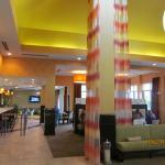 Lobby/dining area.