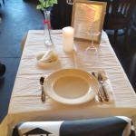 Missing man table on Veterans day.