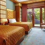 Crockfords Tower Villa Twin Bedroom