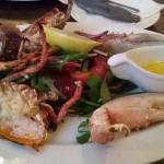 Ouzos: mussels,lobsters and great food