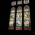 Stained glass window in Rio Vista house