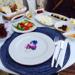 Great traditional Turkish breakfast