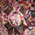 Crazy quilt closeup