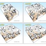 All Suites - floor plans
