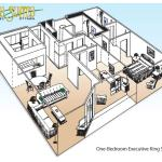 Executive Suite - floor plan