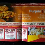 Punjab Tadka Takeaway Menu