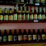 Wide selection of beers.