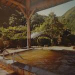 開放的な露店風呂風景