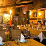 Foto interna do Restaurante