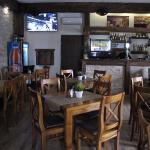 wnętrze Pit Stop Pizza / Rustica