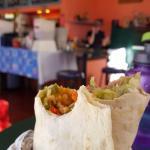 veggie handheld burrito