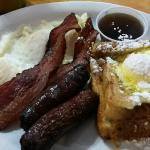 This is the French toast with eggs.  Very good