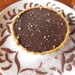 Chocolate Carmel Tart