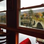 vista do restaurante da Bridge of Flowers