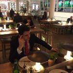 Great Italian restaurant in shopping mall