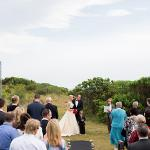 Clifftop wedding
