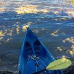 kayaking around kezar lake