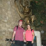 Midnight Biking in Old City Jerusalem at King David and his Harp