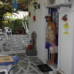 Boussetil Rooms patio