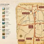 Dépliant du parcours Van Gogh Saint Rémy de Provence