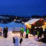 Skilift Seiffen - Blick auf die Seiffner Kirche