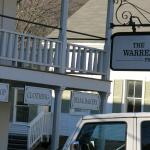In front of the Warren Store.