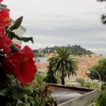 Vue du Balcon, sur la mer et Château de Nice