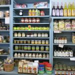 Display beside the bench where we had our lunch.