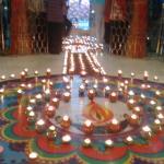 Diwali dipmala darshan at baps Swaminarayan temple rajkot 2015