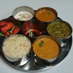 Thali 7 bol + Nan fromage