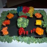 vegetable display