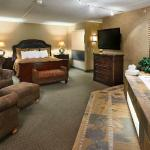The presidential suite is simply the best!  One of 9 suites the Ramkota offers.  Call for detail