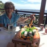 Sushi Boat! It's not on the menu - but definitely worth asking for!