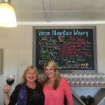 Dawn and Mel (Melanie) in the tasting room