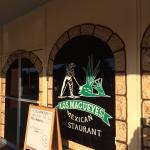 Front door of restaurant