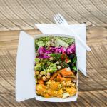 Take away mixed salad box