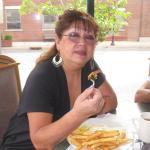 Andrea le encanta , su lugar favorito para desayunar