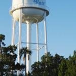 Ozello water tower next to Island Outpost