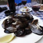 Mussels at Bromsoms Girona Menu Del Dia Entree